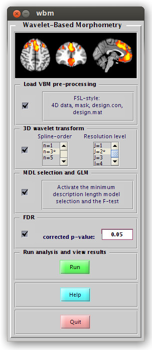 WBM toolbox screenshot